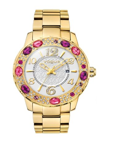 kotsoniskosmimata vogue jaipur crystal gold stainless steel 97023 1 97023 1
